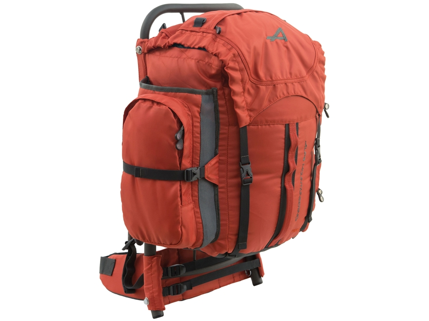 ALPS Mountaineering Red Rock Frame Backpack Polyester Chili