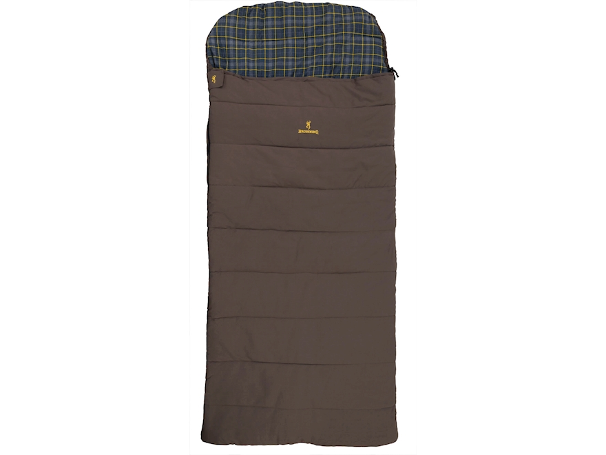Browning Klondike -30 Degree Sleeping Bag Canvas and Cotton Clay