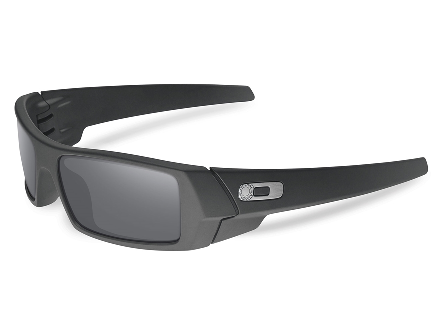 oakley gascan polarized replacement lenses sy79  Oakley SI Gascan Polarized Sunglasses Cerakote Graphite Black Frame/Gray  Lens