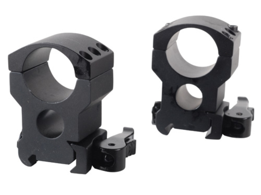 "Burris 1"" Xtreme Tactical QD Weaver -Style Rings Matte"