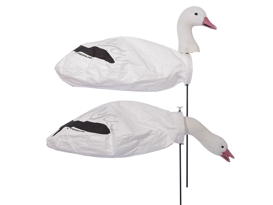 Tanglefree Snow Goose Slammer Sock Goose Decoy Pack of 12