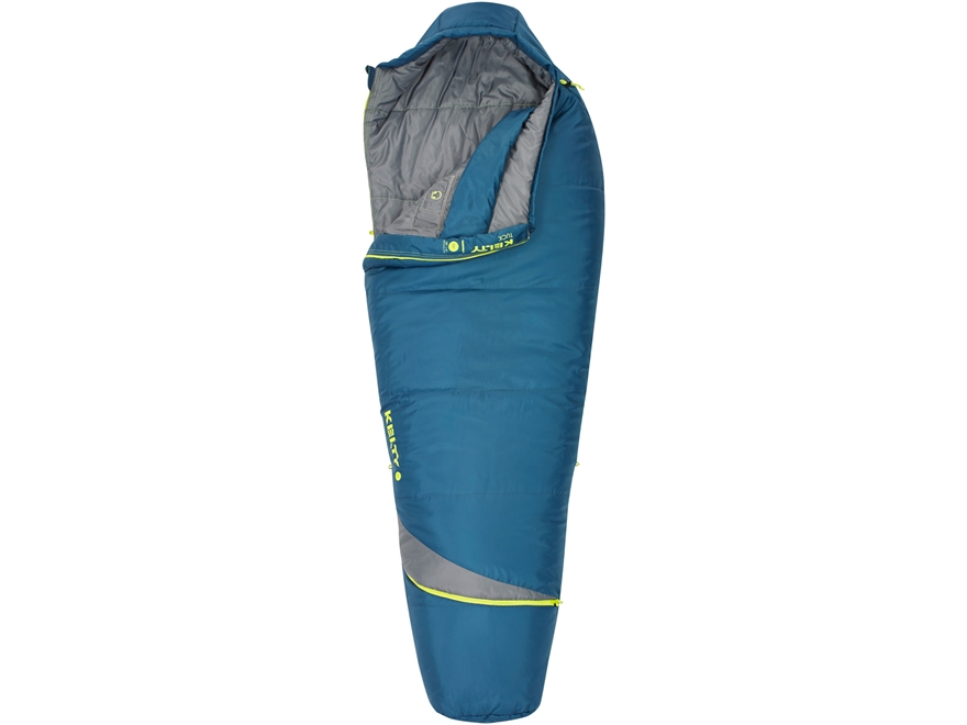 Kelty Tuck 20 Degree Sleeping Bag Regular Polyester Dark Slate
