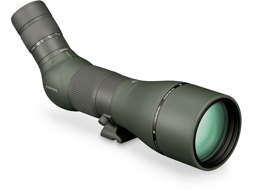 Vortex Optics Razor HD Spotting Scope 27-60x 85mm Wide Angle Armored Green