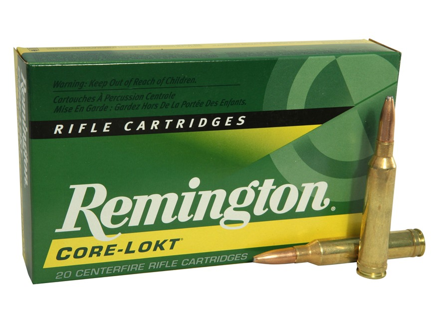 Remington Express Ammunition 7mm Remington Magnum 175 Grain Core-Lokt Pointed Soft Poin...