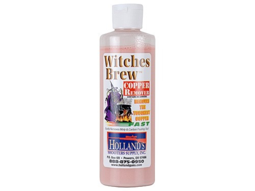 Holland's Witches Brew Copper Bore Cleaning Solvent 8 oz Liquid