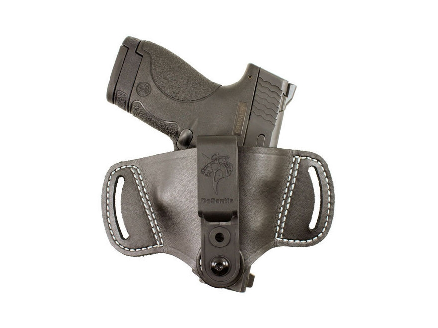 DeSantis Outback Inside/Outside the Waistband Holster Ambidextrous Small Frame Semi-Aut...