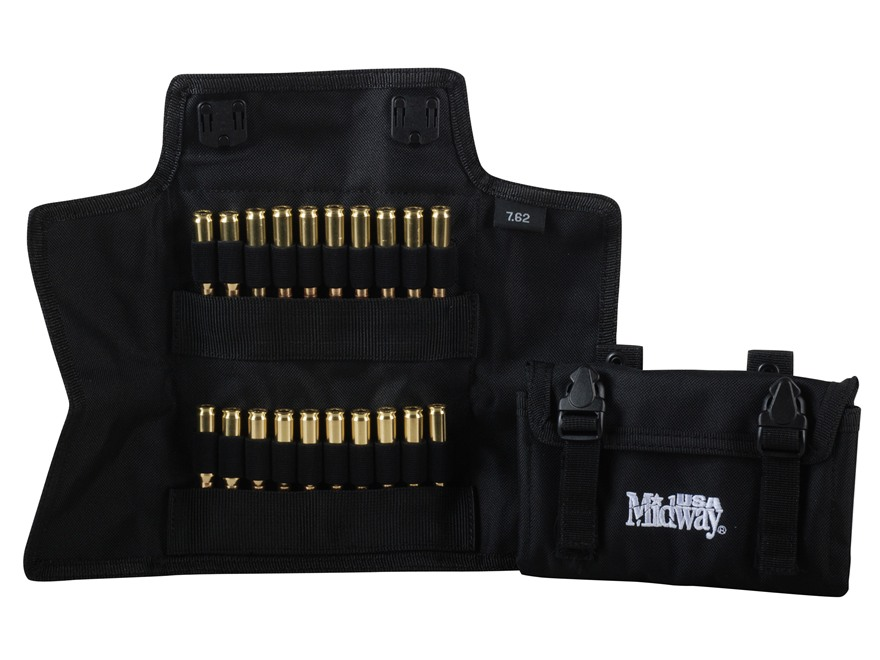 MidwayUSA Folding Rifle Ammunition Case MOLLE Compatible