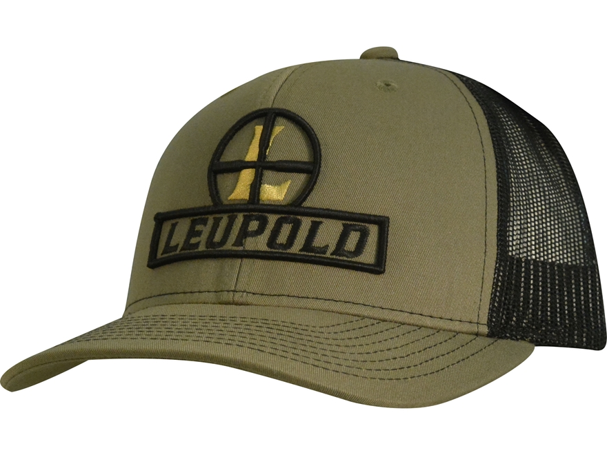 Leupold Reticle Trucker Hat Polyester