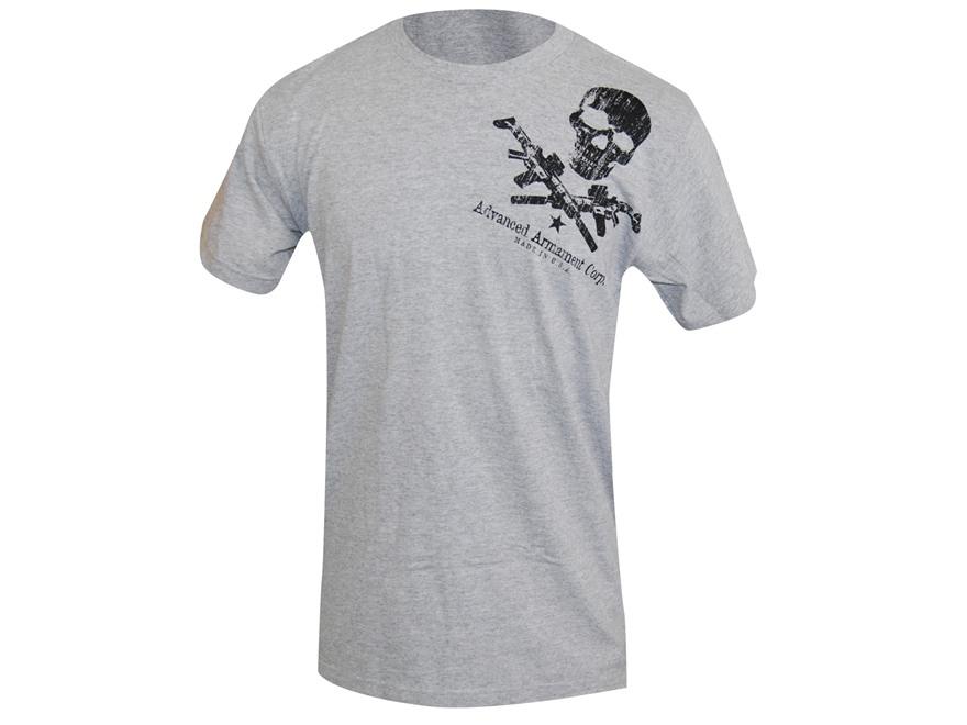 Advanced Armament Co (AAC) Shoulder X-Guns Logo T-Shirt Short Sleeve Cotton