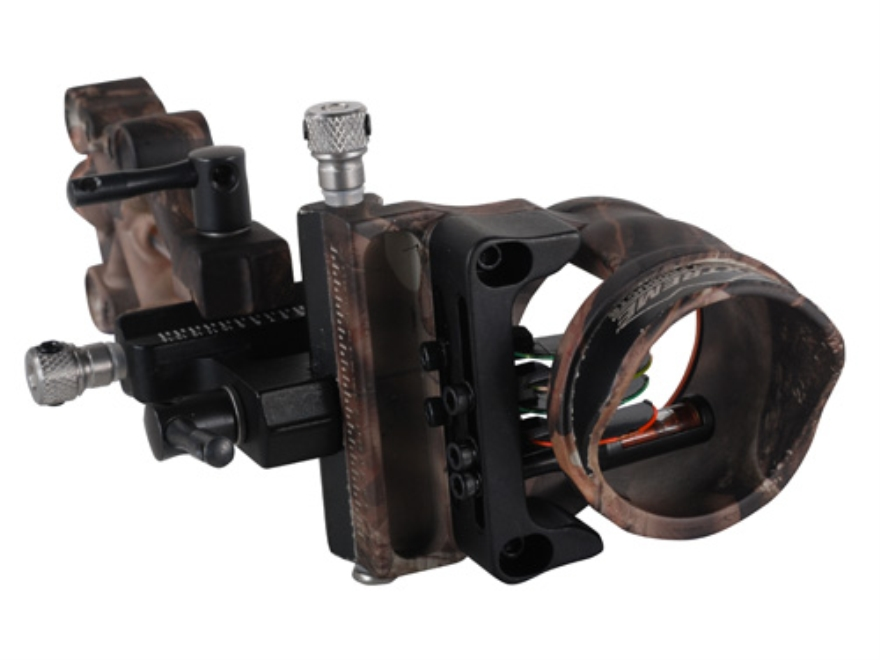 "Extreme Recon 1550 4-Pin Bow Sight .019"" Pin Diameter Right Hand Aluminum Lost Camo"