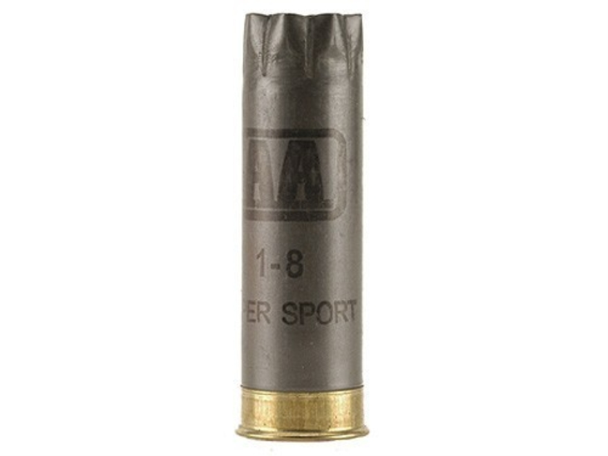 "Once-Fired Winchester AA Shotshell Hulls 12 Gauge 2-3/4"" 8 Point Crimp Gray Bag of 100"