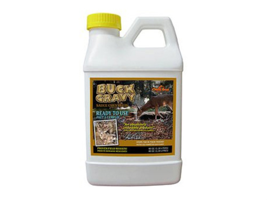 C'Mere Deer Buck Gravy Deer Attractant Liquid 40 oz.