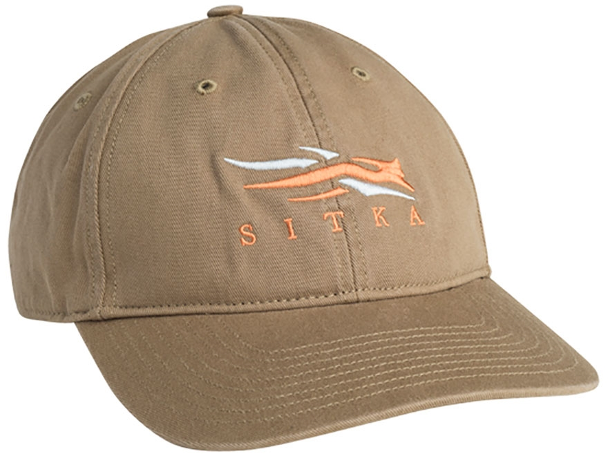 Sitka Gear Relaxed Fit Logo Cap Cotton