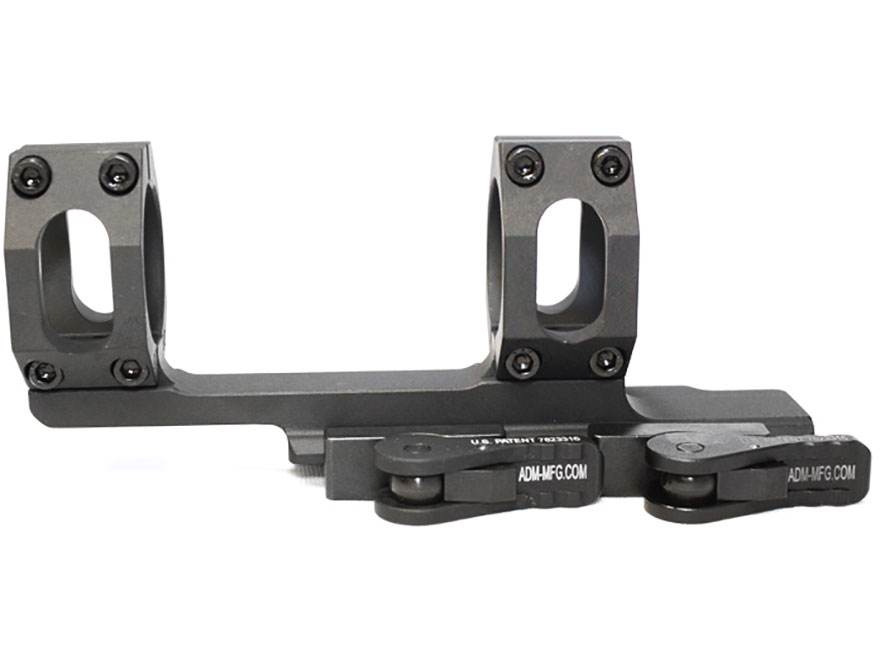 American Defense Recon Quick-Release Extended Scope Mount Picatinny-Style with Rings AR...
