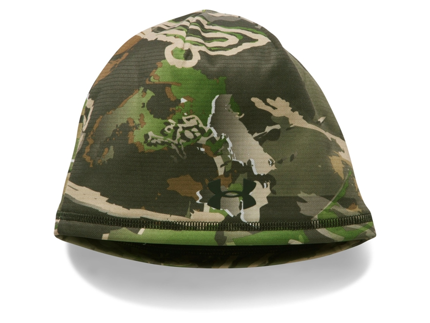 Under Armour Youth UA Scent Control Storm Fleece Beanie Polyester Ridge Reaper Forest Camo