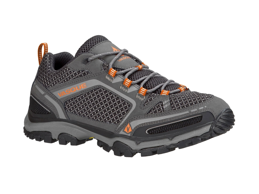 "Vasque Inhaler II Low 4"" Hiking Shoes Synthetic Magnet and Rust Men's"