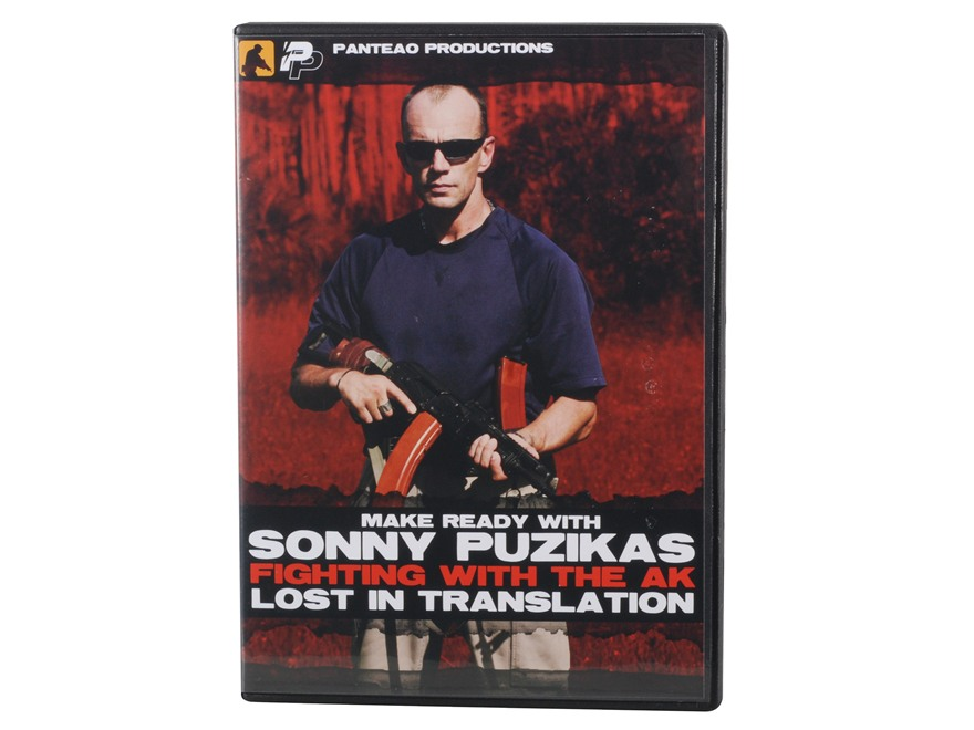 "Panteao ""Make Ready with Sonny Puzikas: Fighting With The AK"" DVD"