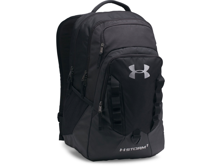 Under Armour Recruit Backpack Polyester and Nylon Black