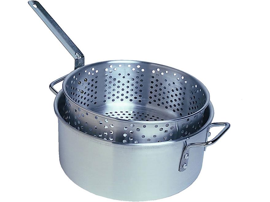 Camp Chef 10.5 Qt Steam & Fry Pot Set Aluminum