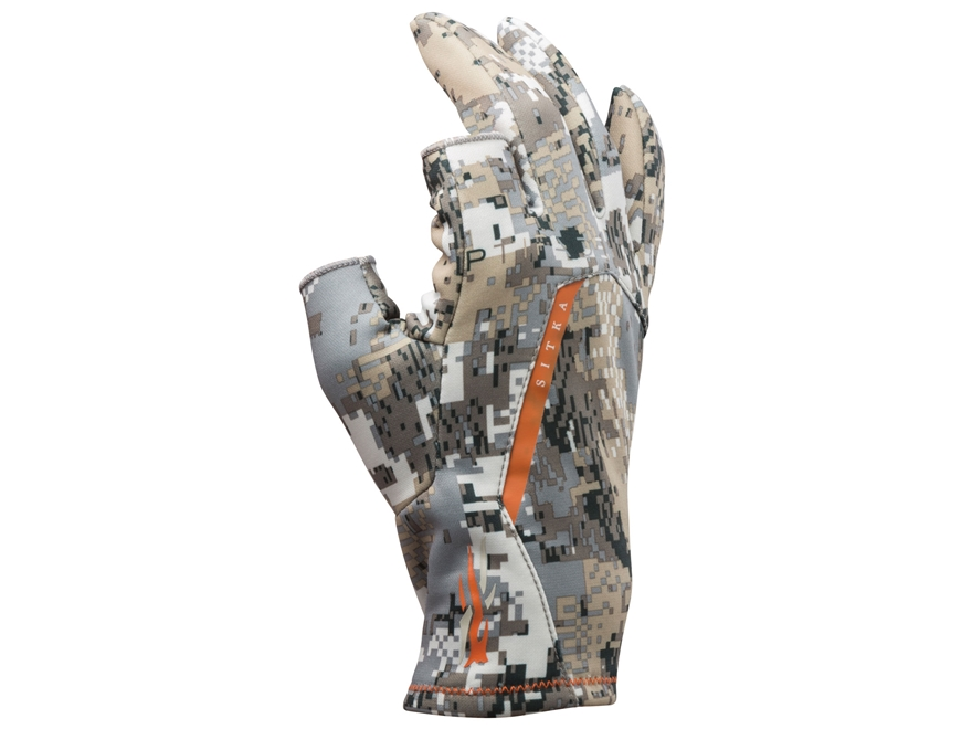 Sitka Gear Fanatic Insulated Gloves Polyster Gore Optifade Elevated II Camo