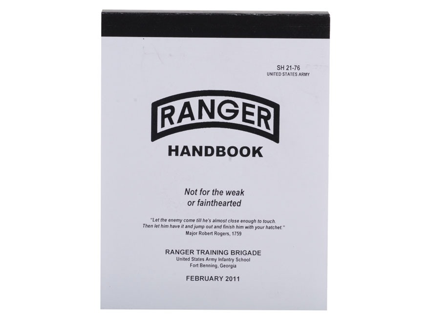 Military Manuals 2011 Ranger Handbook