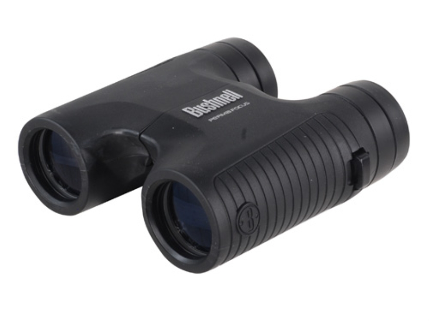 Bushnell Permafocus Compact Binocular 10x 32mm Roof Prism Rubber Armored Black