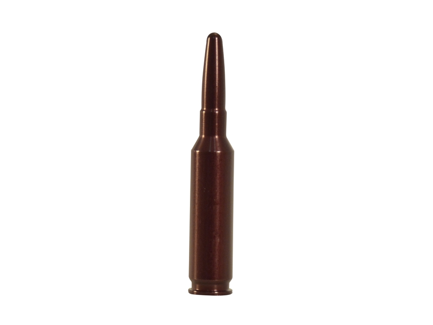 A-ZOOM Action Proving Dummy Round, Snap Cap 6.5 Creedmoor Aluminum Pack of 2