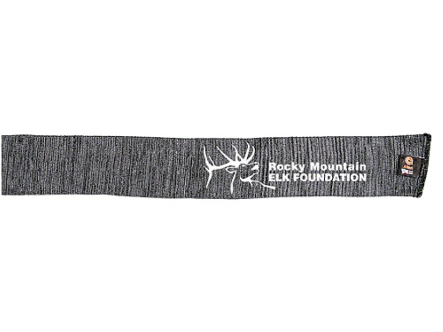 "Rocky Mountain Elk Foundation Rifle and Shotgun Gun Sock Silicone-Treated Polyester 52""..."