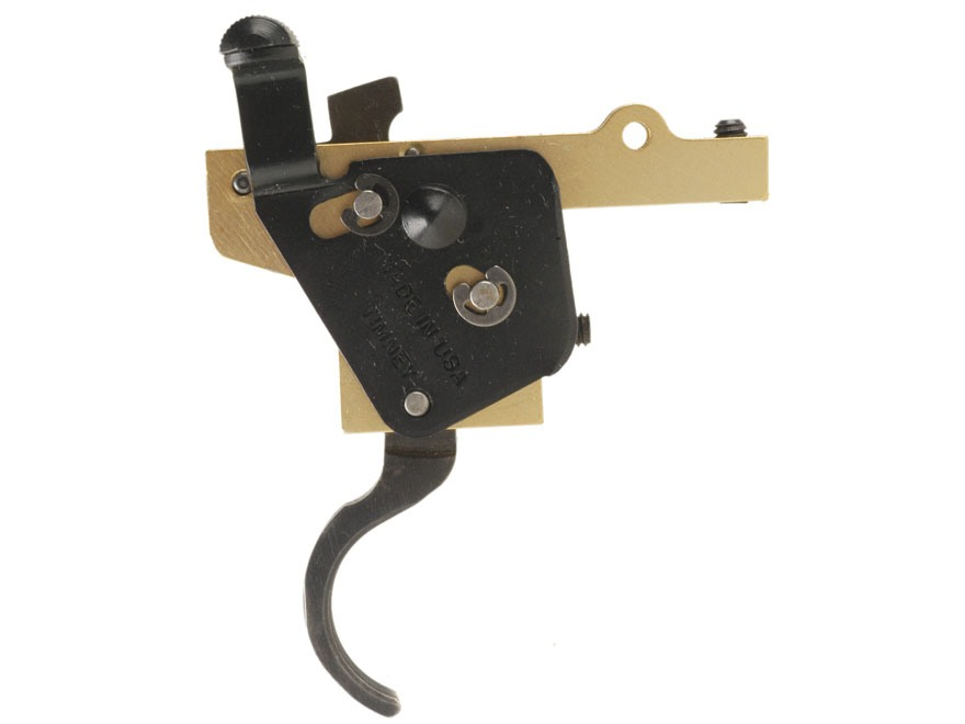 Timney Featherweight Deluxe Rifle Trigger Mauser 98 with Safety 1-1/2 to 4 lb Blue