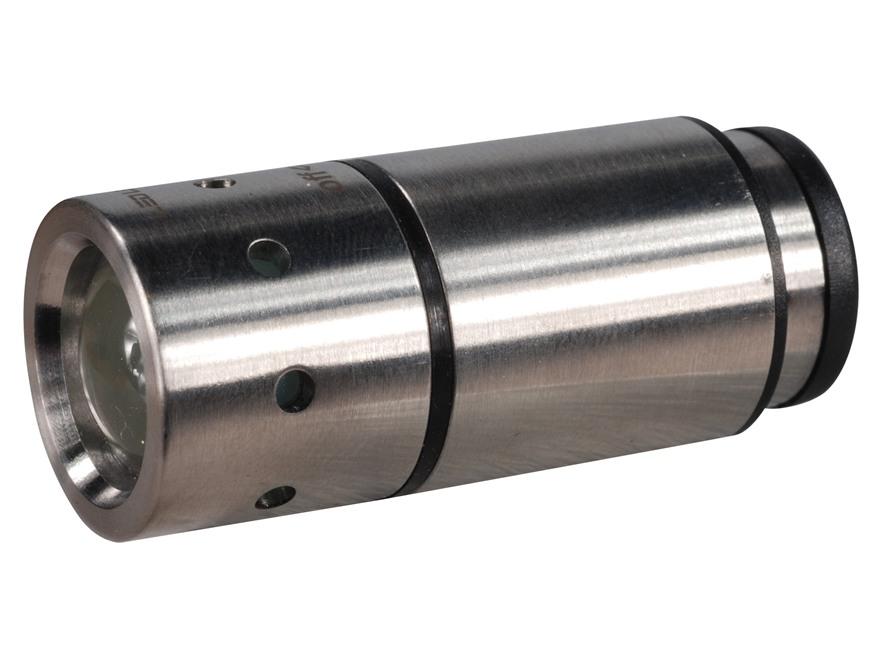 Led Lenser Automotive Flashlight LED Rechargeable Battery Aluminum Silver