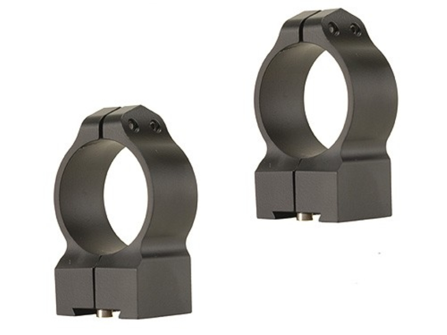 Warne 30mm Permanent-Attachable Ring Mounts Tikka Matte Medium
