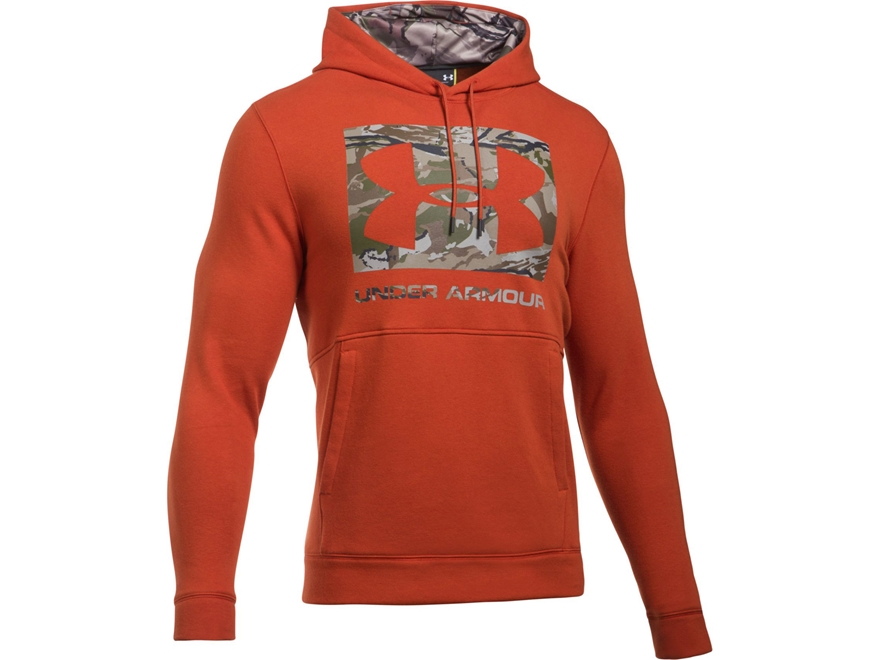 Under Armour Men's UA Threadborne Camo Fill Logo Hoodie Cotton/Poly