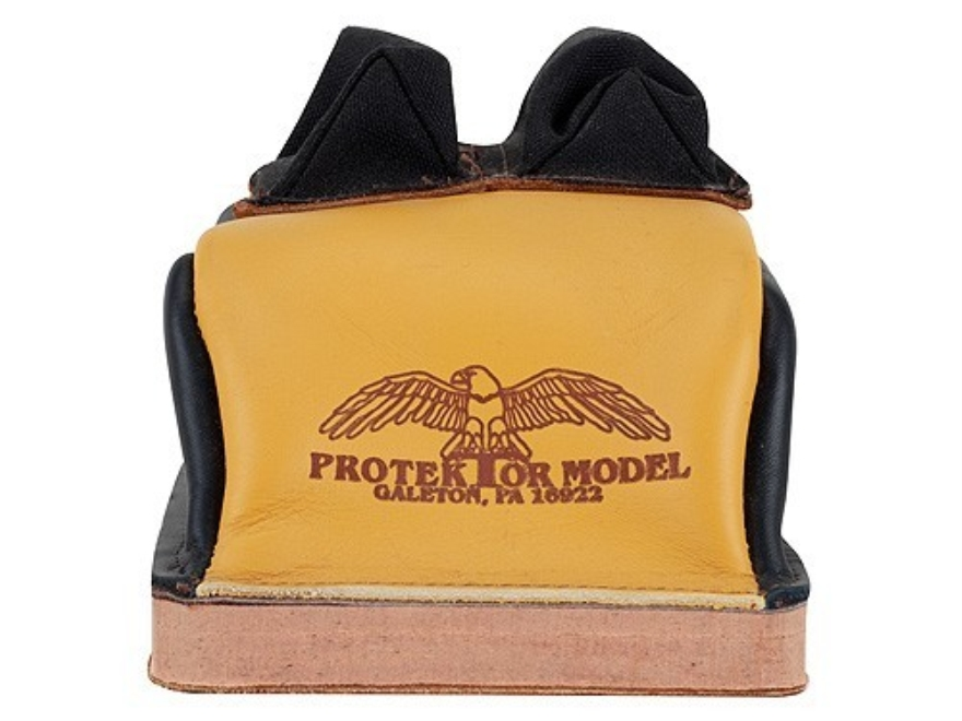 Protektor Deluxe Double Stitched Bunny Ear Rear Shooting Rest Bag with Heavy Doughnut B...