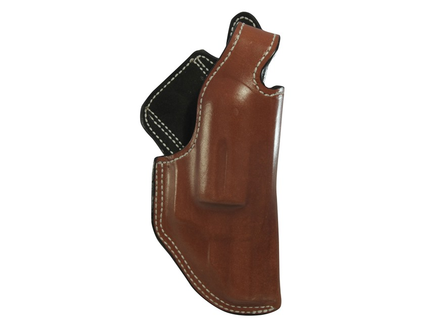 "DeSantis Dual Angle Hunter Belt Holster Right Hand S&W Governor 2-3/4"" Leather Tan"