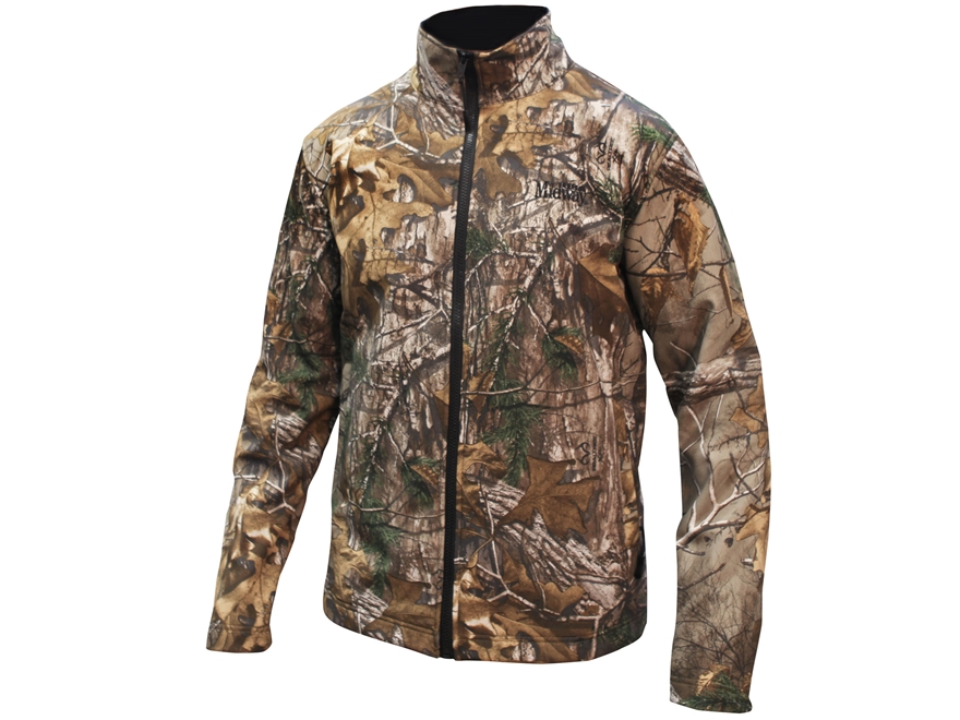 MidwayUSA Men's Softshell Jacket Polyester Realtree Xtra Camo L