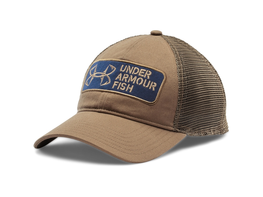 Under armour fish hook patch cap synthetic blend mpn for Under armour fish hook hat