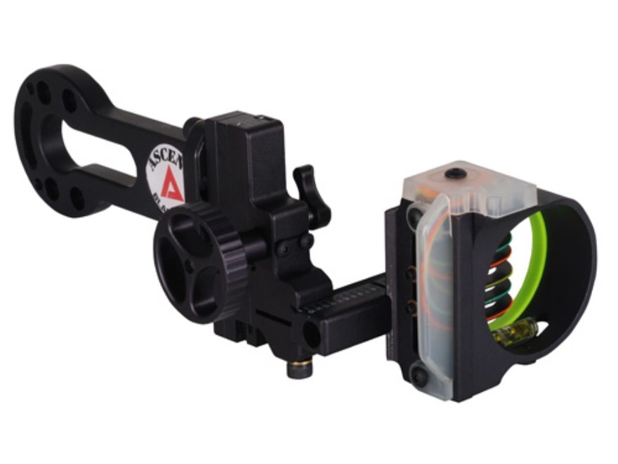 "Black Gold Ascent 5-Pin Bow Sight .019"" Pin Diameter Right Hand Aluminum Black"