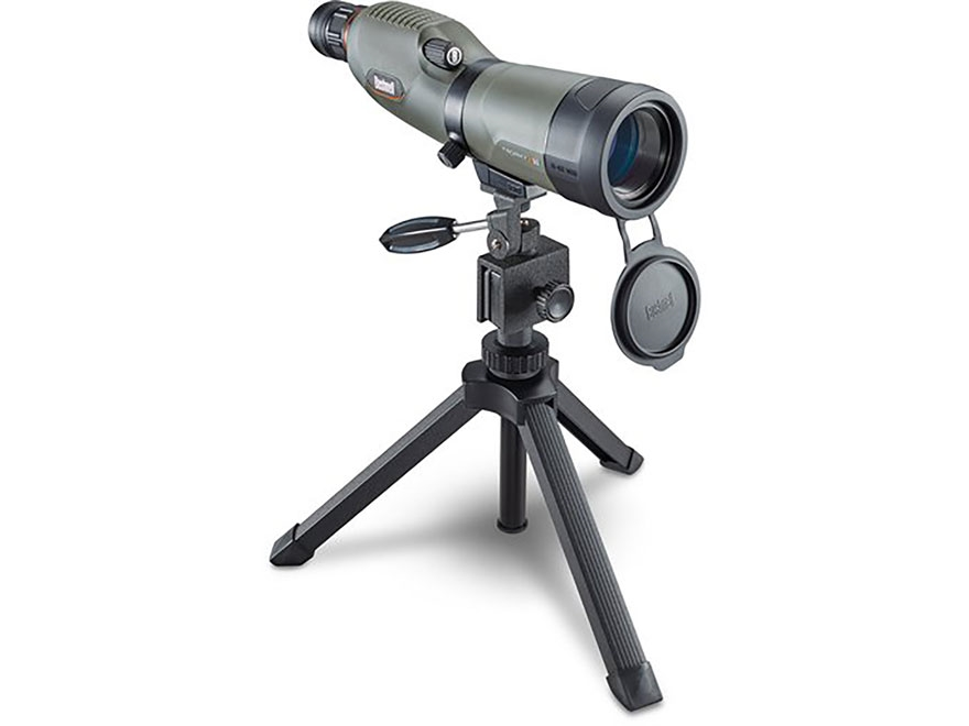 Bushnell Trophy Xtreme Spotting Scope 16-48x 50mm Straight Body Green with Hard Case
