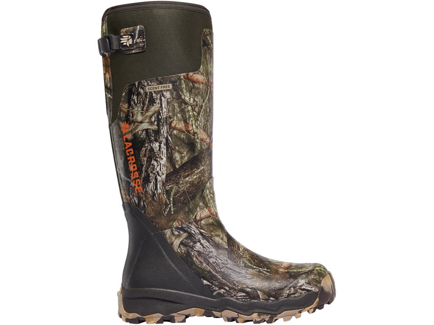 "LaCrosse Alphaburly Pro 18"" Waterproof Uninsulated Hunting Boots Rubber Clad Neoprene M..."