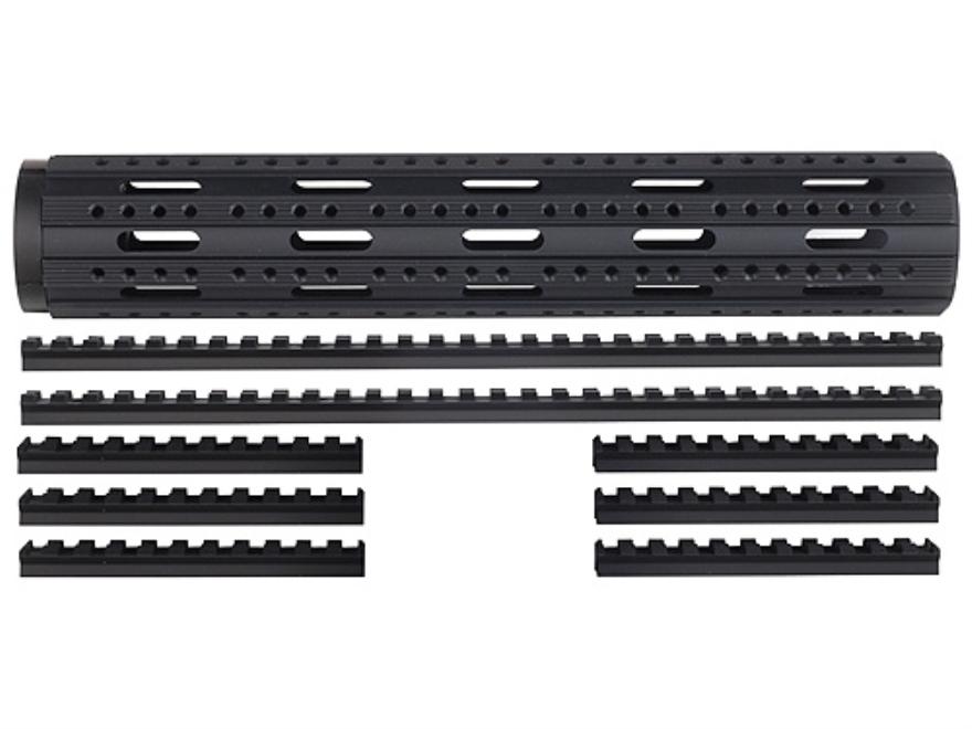 Advanced Technology Free Float Handguard 8-Rail AR-15 Rifle Length with Combo Rail Pack...