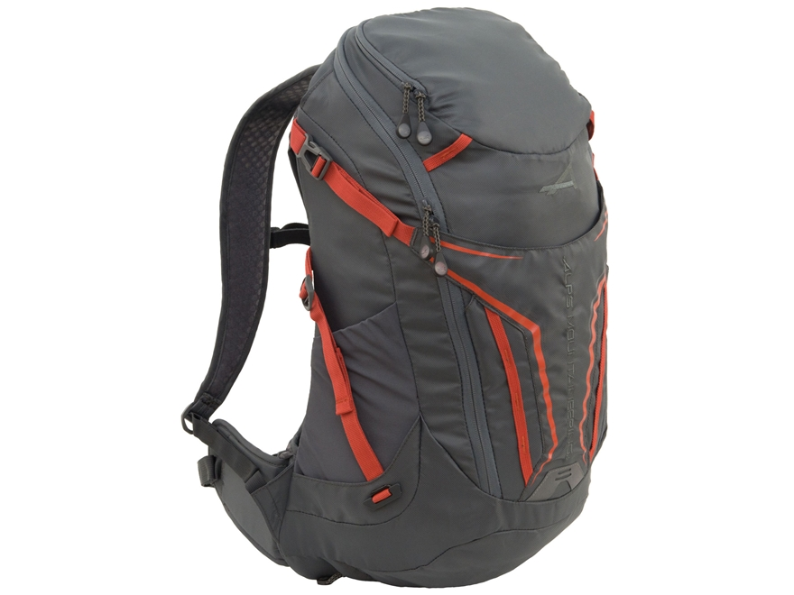 ALPS Mountaineering Baja 20 Backpack Polyester Gray and Orange