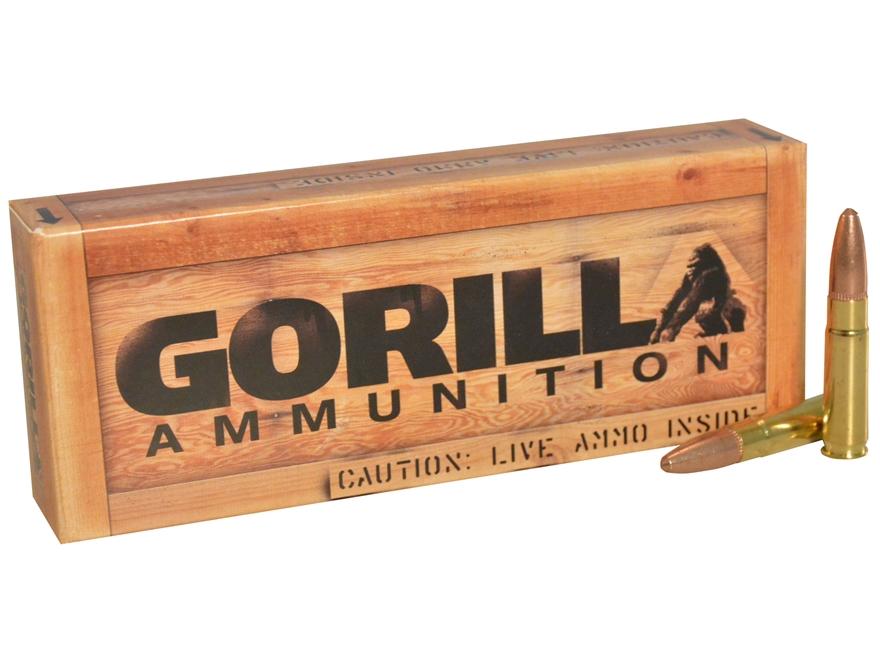 Gorilla Frangible Training Ammunition 300 AAC Blackout 110 Grain Frangible
