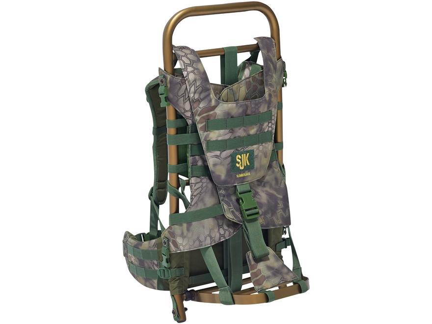 SJK Rail Meat Hauler Aluminum Backpack Frame Kryptek Mandrake Camo