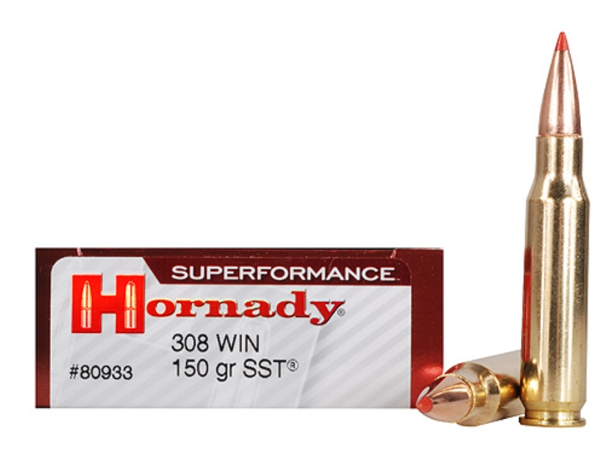 Hornady Superformance SST Ammunition 308 Winchester 150 Grain SST Box of 20
