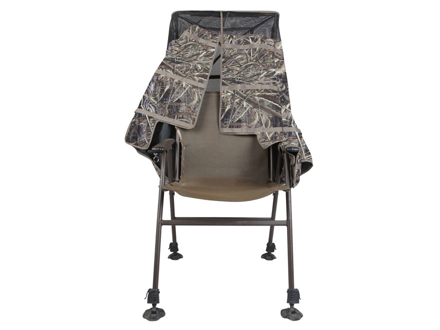 MOMarsh Invisichair Chair Blind Realtree Max-5 Camo