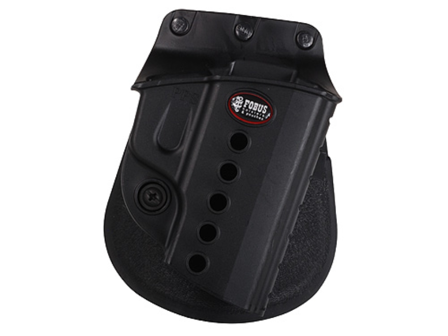 Fobus Evolution Paddle Holster Polymer Black