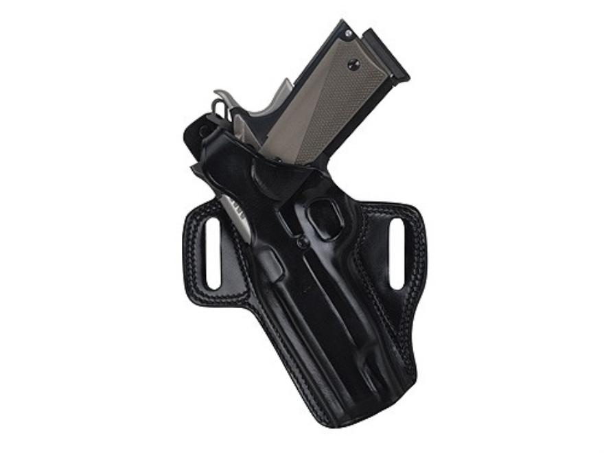 """Galco Fletch Belt Holster Left Hand S&W 586, 686 Colt Python, King Cobra 4"""" Barrel Leat..."""