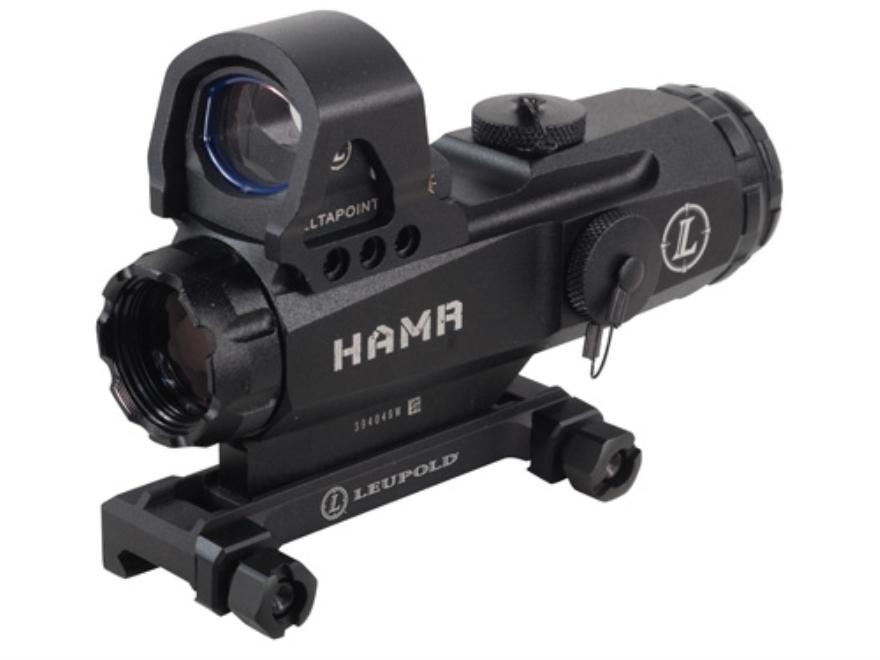 Leupold Mark 4 Tactical HAMR Rifle Scope 4x 24mm 1/10 Mil Adjustments Illuminated CMR2 ...