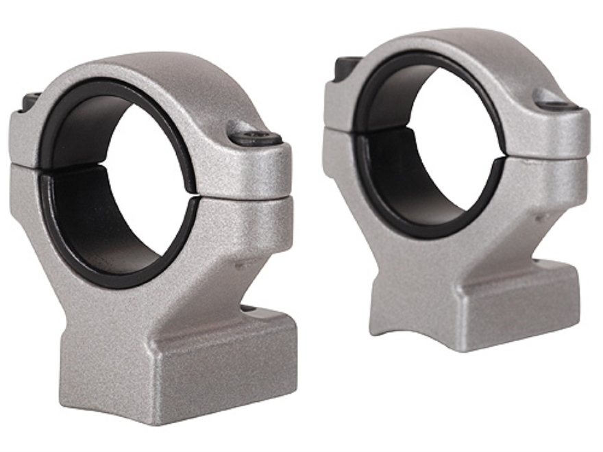 "Remington 2-Piece Scope Mounts with Integral 30mm Rings, 1"" Inserts Remington 700 Silve..."
