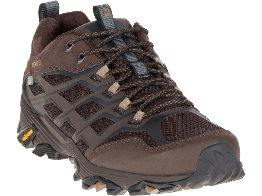 """Merrell Moab FST 4"""" Waterproof Hiking Shoes Leather/Synthetic Men's"""